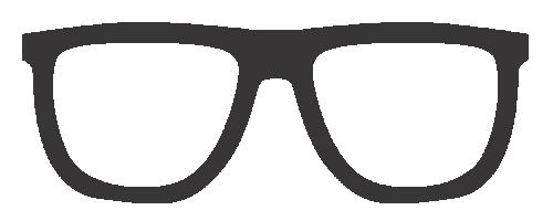 Brillengestelle eckige Form rundes Gesicht