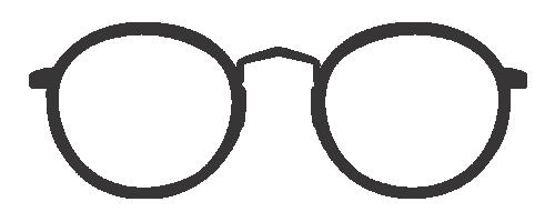 Brillengestelle runde Form eckiges Gesicht